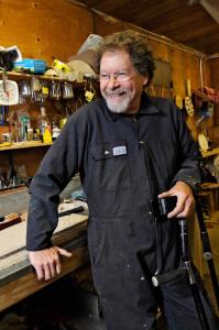 Jon in Workshop